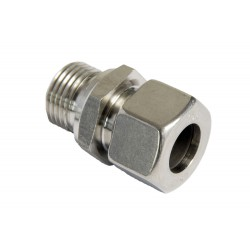"Inox verloop 15mm x 3/8""M"